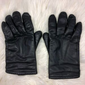 Other - Men's Leather Gloves Cashmere Lined medium